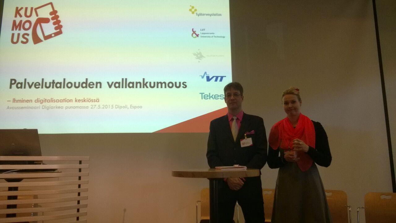 Sari Käpykangas ja Jari Porras